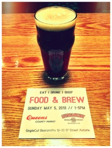 Queens County Market & SingleCut Beersmiths present Food & Brew - photo credit: Astoria Haiku