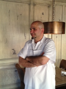 Chef Psilakis at MP Taverna