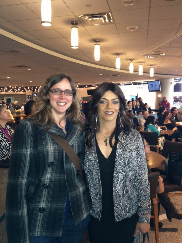 I got to meet Soraya Sobreidad!
