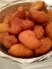 The hot, fresh Loukoumades at the St. Demetrios Greek Festival in Astoria