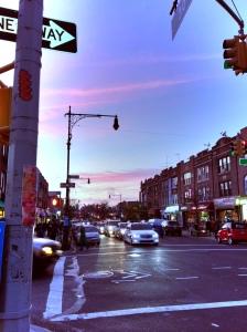 Where I live, Astoria NY