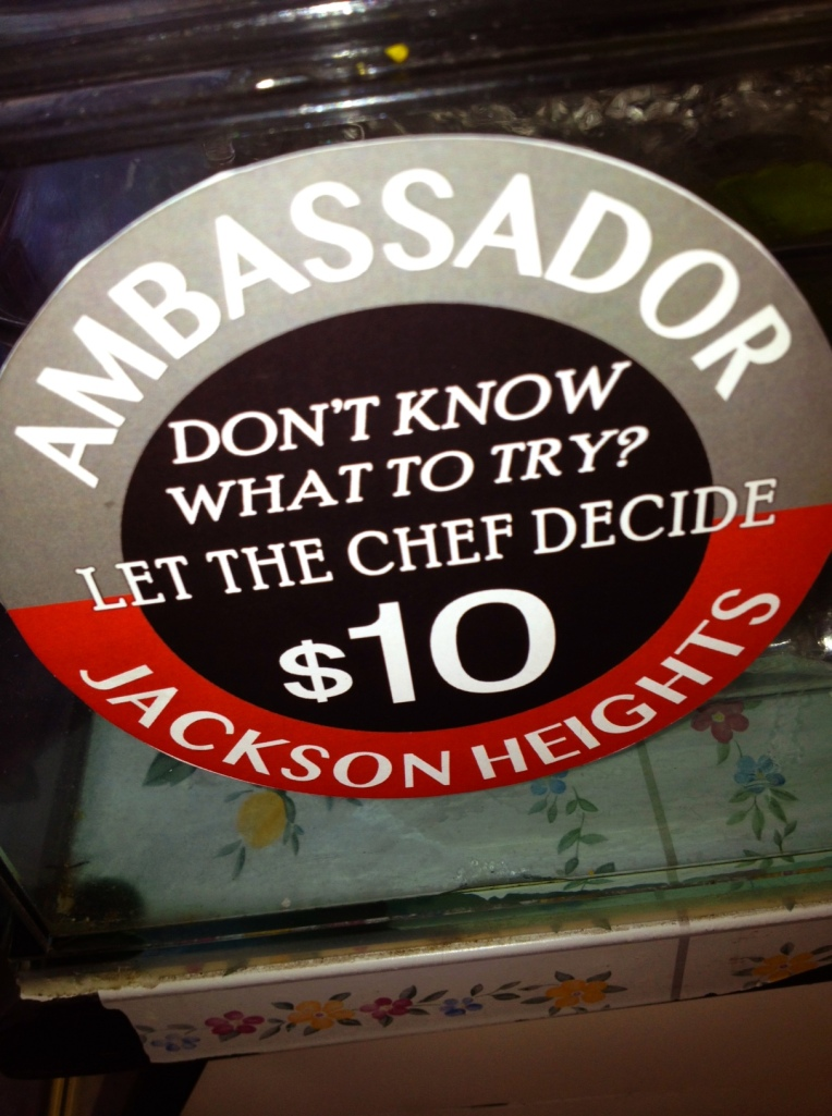 Look for the Ambassador Plates sticker at participating restaurants, cafes and vendors.