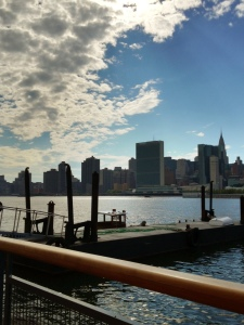 The View from Anable Basin in Long Island City