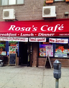 I love getting coffee in the morning at Rosa's cafe. And I'm not alone it's a great Dutch Kills hub.