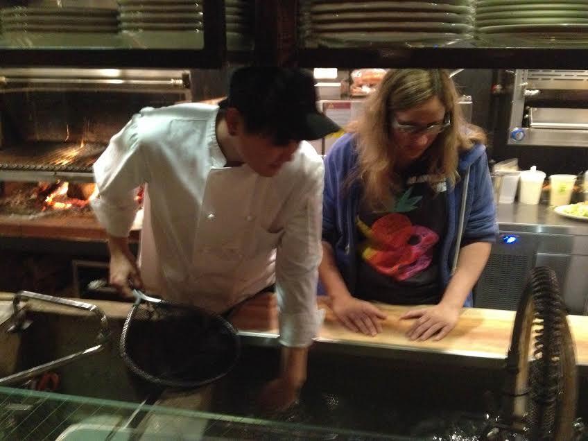 steak house kitchen the night i ordered the fish at m wells steakhouse tastoriaqueens