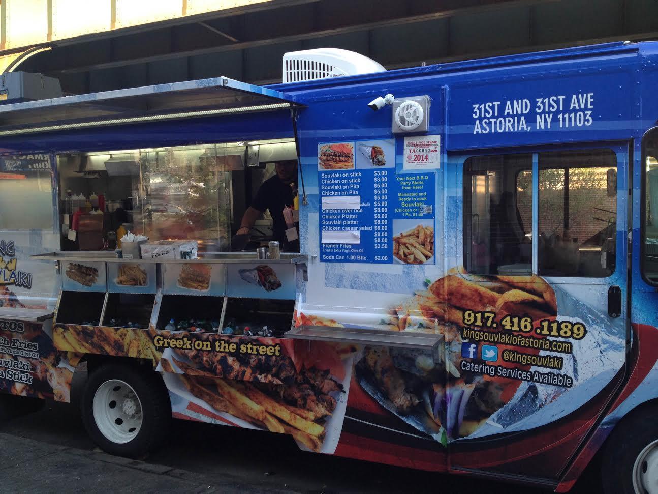 Souvlaki Food Truck