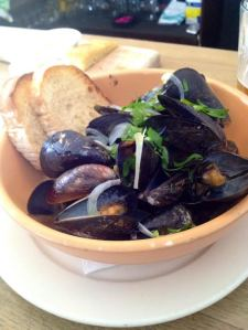 PEI Mussels Bowl at Vesta