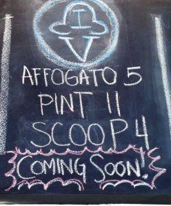 Affogato Coming Soon!!!!